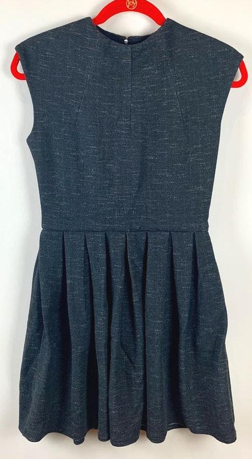 Aritzia Charcoal Sleeveless Dress With Pockets
