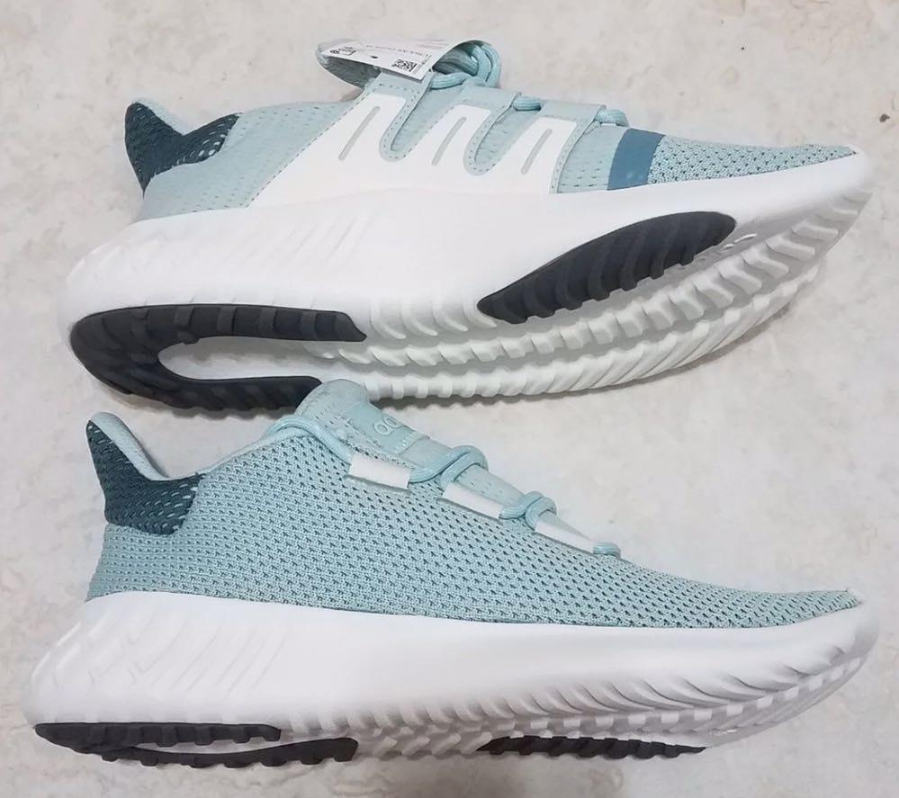 Adidas Tubular Turquoise Shoes Sz 8