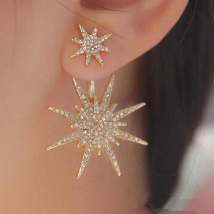 Boutique star earrings