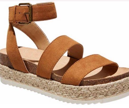 Amazon Platform Espadrille Sandals