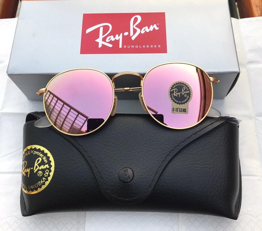 Ray Ban Round Lenses 3447 Sunglasses