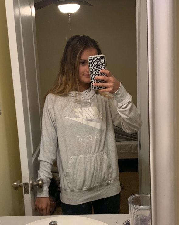 Nike lightweight sweatshirt