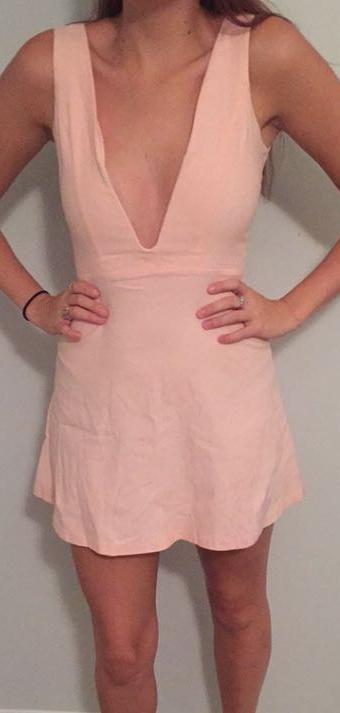 Tobi Light Pink Cocktail Dress