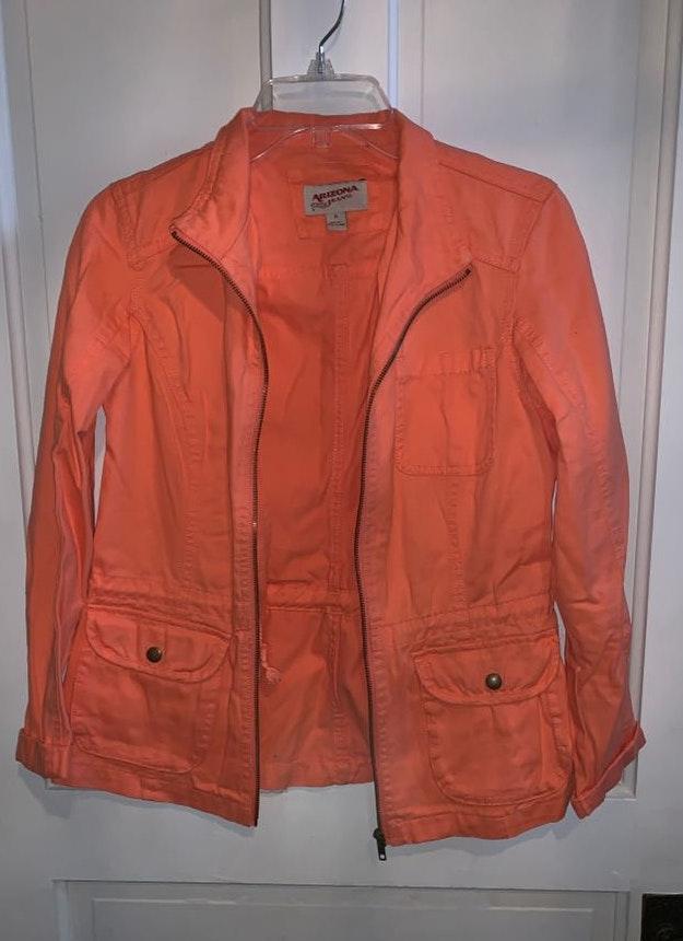 Arizona Orange Jean Jacket