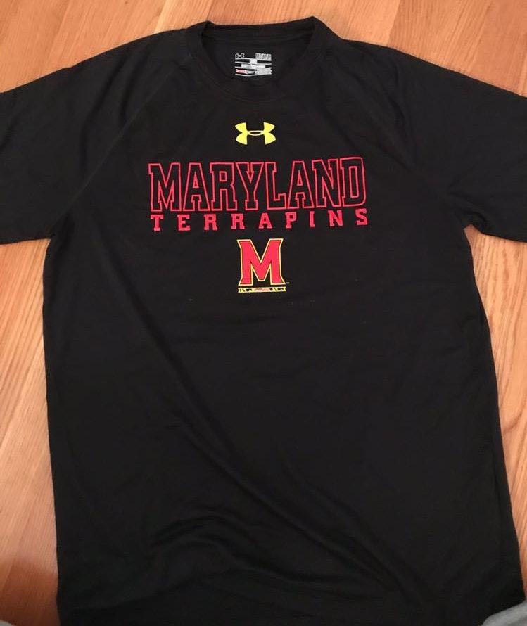 Under Armour Maryland Workout Shirt