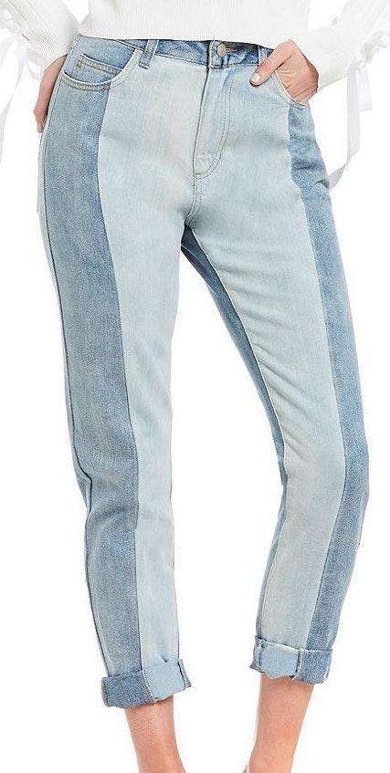 Gianni Bini Two Toned Jeans