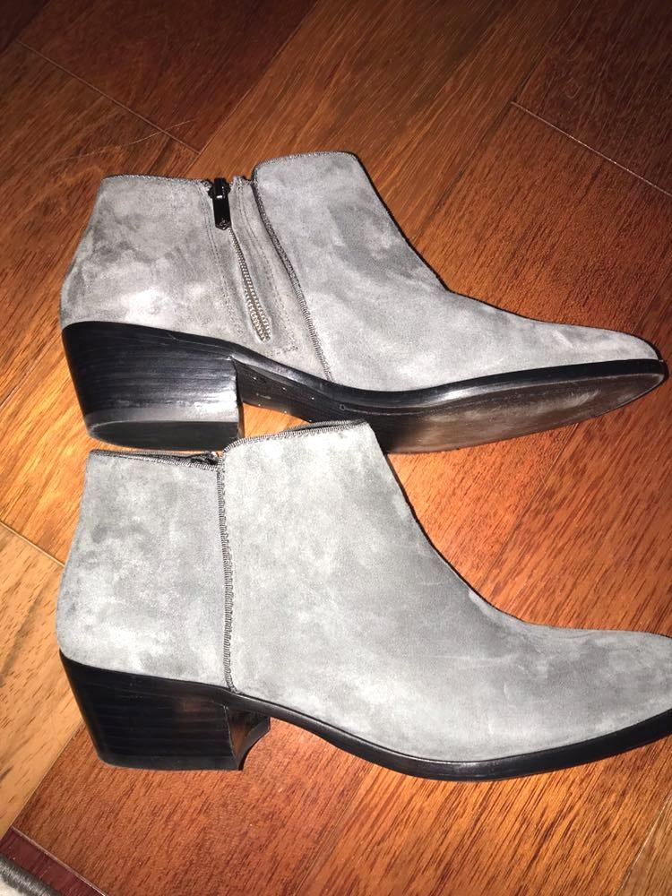 Sam Edelman Grey Boots Ankle