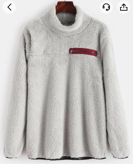 Zaful Fluffy Sweater