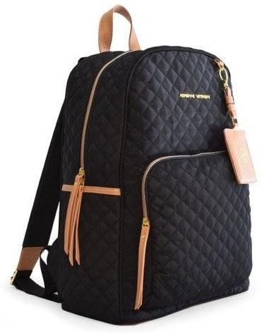 Adrienne Vittadini large black backpack