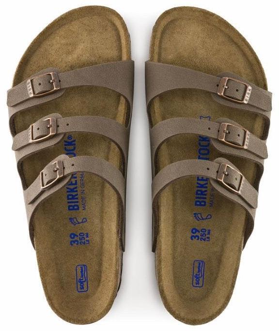 Birkenstock Mocha Florida Soft Footbed Size 39