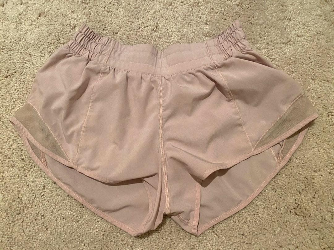 Lululemon Light Pink Shorts Curtsy