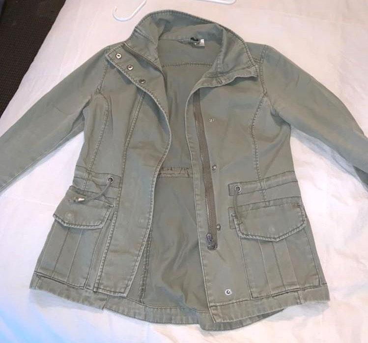 Olive Green Utility Jacket