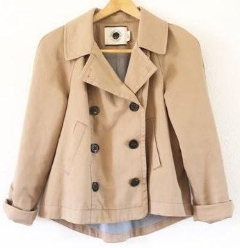 Anthropologie Daughters of Liberation Tan Jacket