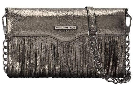 Rebecca Minkoff Fringe Leather Tech Crossbody