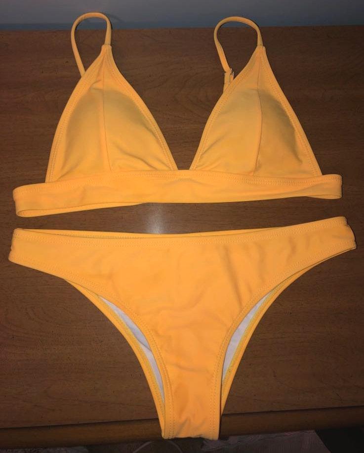 SheIn Yellow Bikini