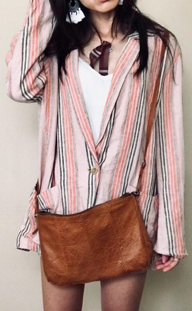 Anthropologie Brand new  Day&mood Genuine Leather Bag
