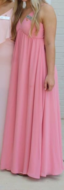 Lulus pink maxi dress
