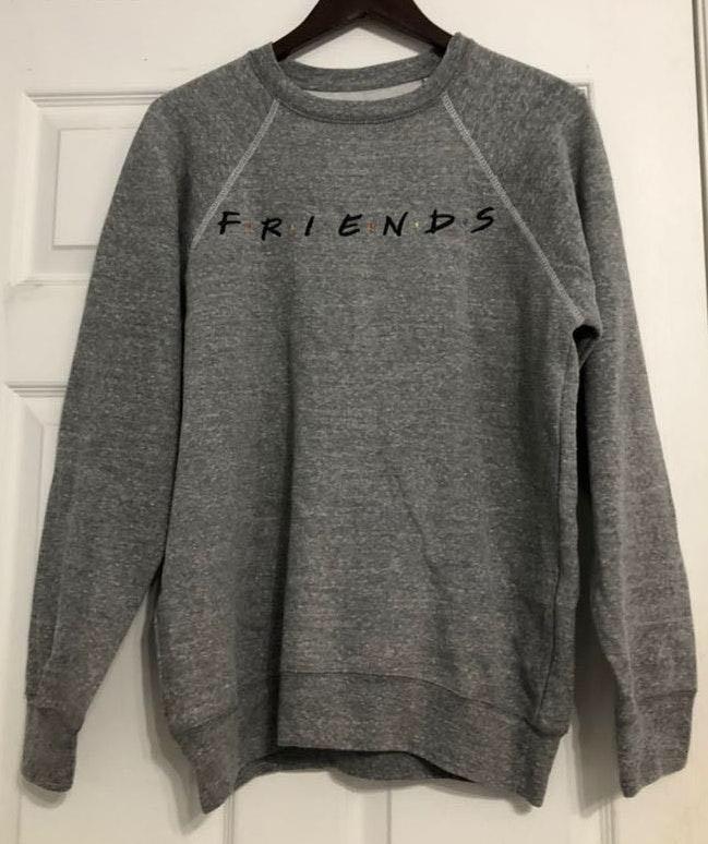 Boxlunch Grey Friends Sweatshirt