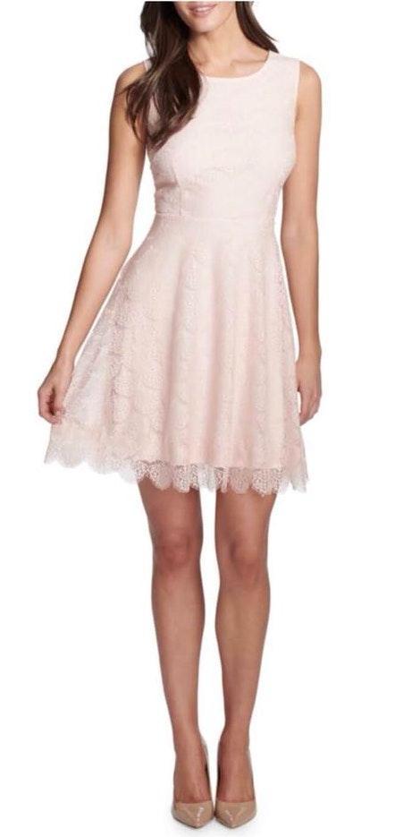 Kensie - Fit & Flare Lace Dress - sz 6 NWT