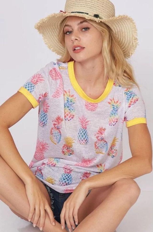 Fantastic Fawn Brand New Pineapple Shirt