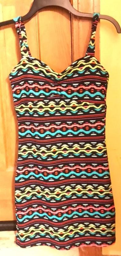 H&M Colorful Patterned Dress