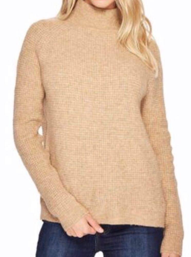 BLANK NYC Night Whispers Sweater In Atomic Tan