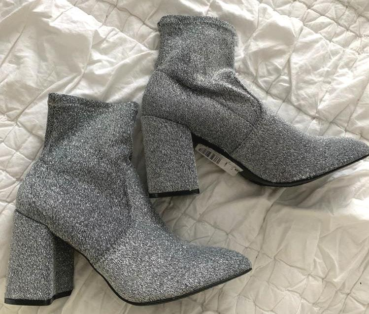 Super Fun Sparkly Booties