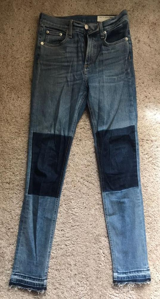 Rag & Bone Patch Jeans