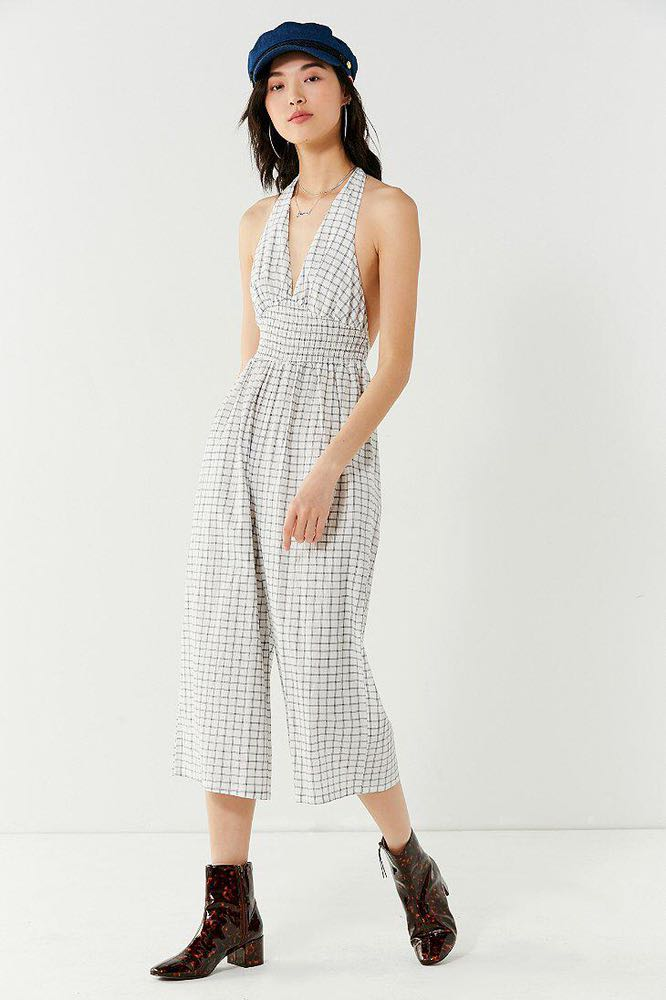 Urban Outfitters Halter Jumpsuit