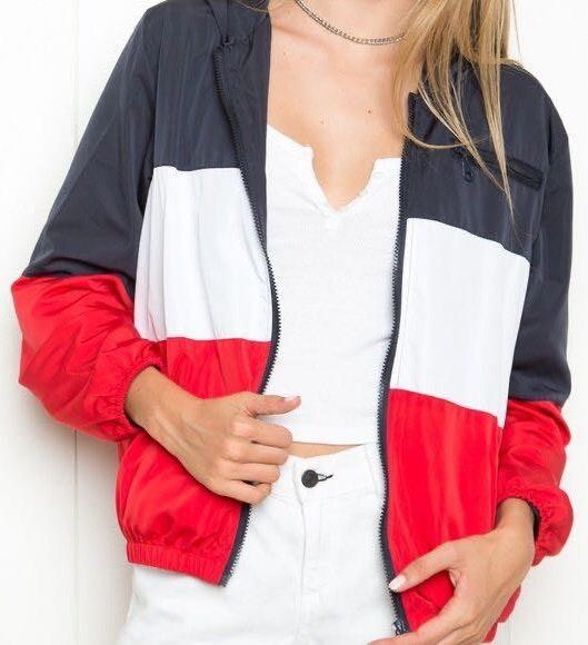 Brandy Melville Stripped Jacket