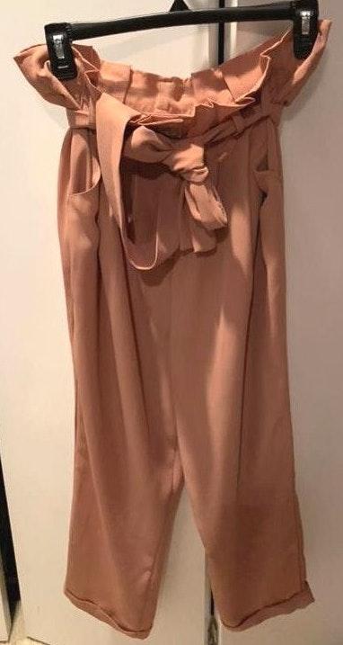 Lush Clothing Cropped Dress Pants