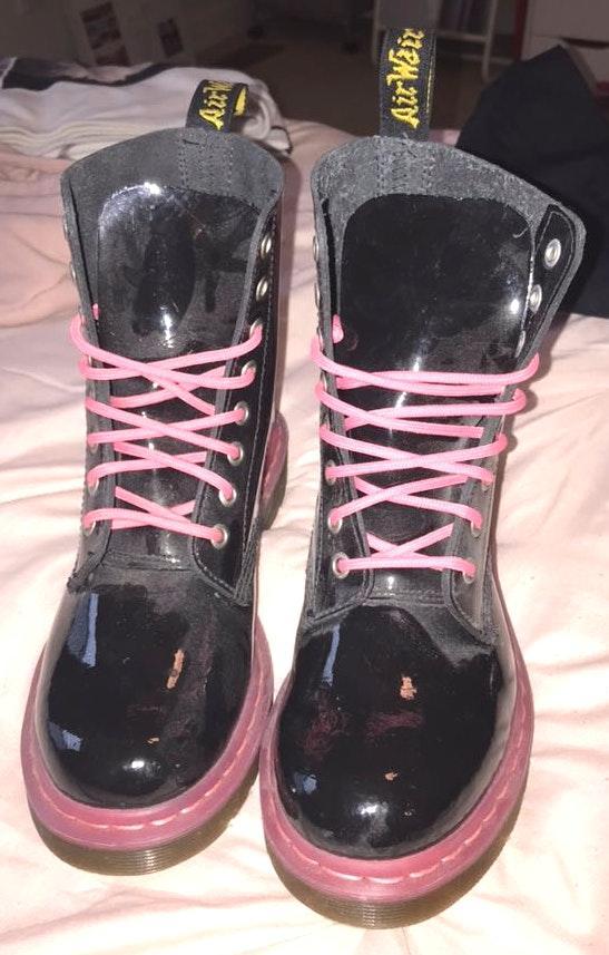 Dr. Martens Women's Airwalk Combat Boots