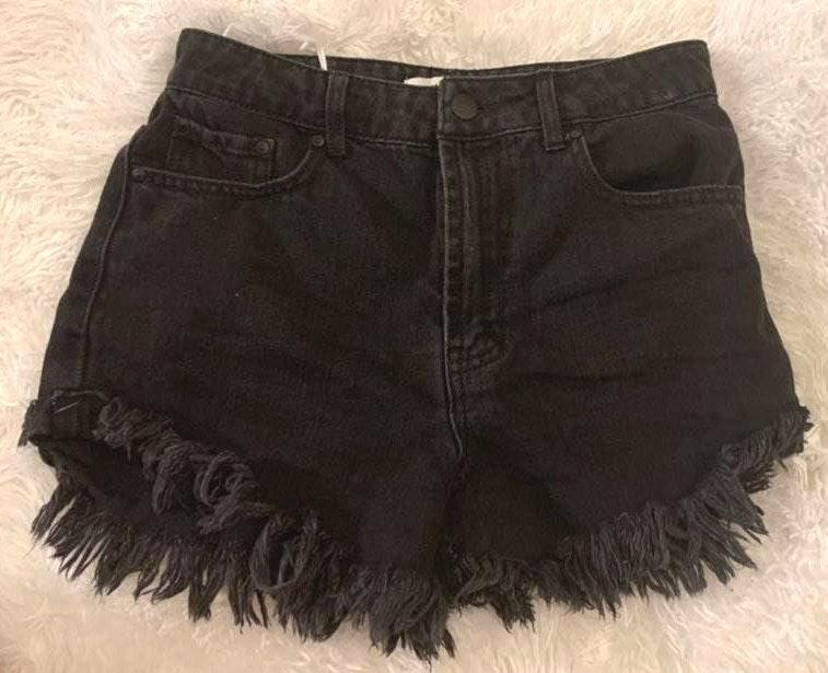 Forever 21 Cute High waisted Dark Denim Shorts