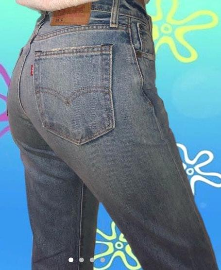 Levi's boyfriend/ mom vintage jeans