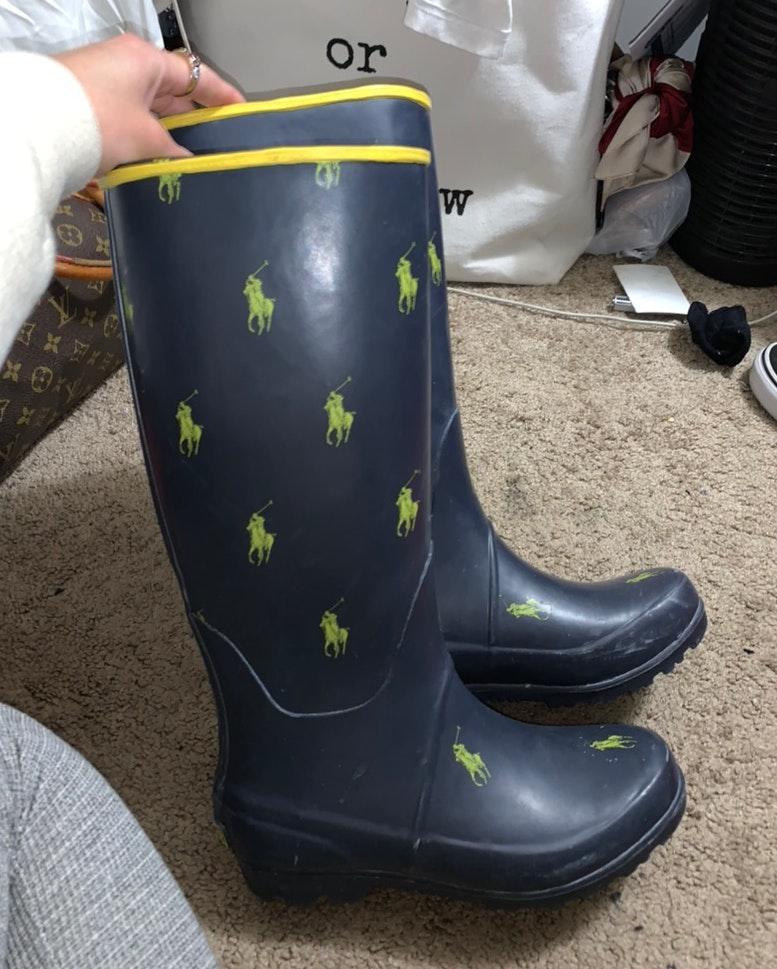 Ralph Lauren Polo Rain Boots | Curtsy