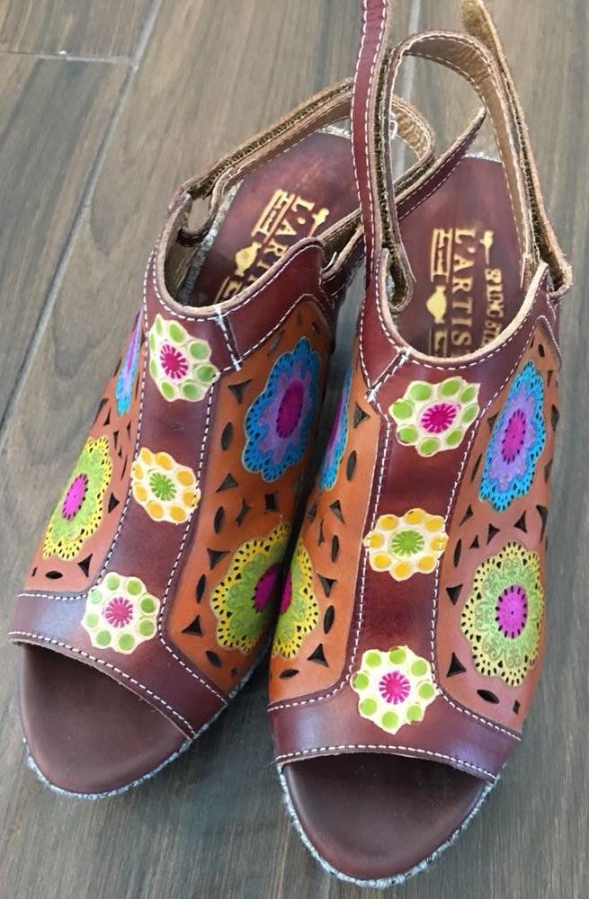 L'ATISTE Colorful Block Heel Shoes!