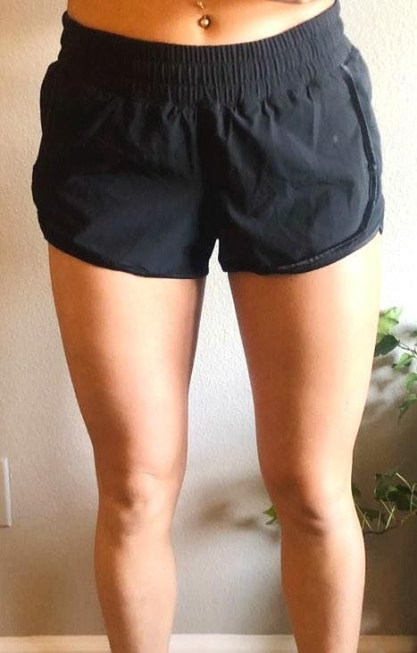 Lululemon Black Hotty Hot Shorts