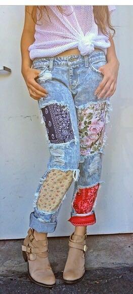Carmar Patch Jeans