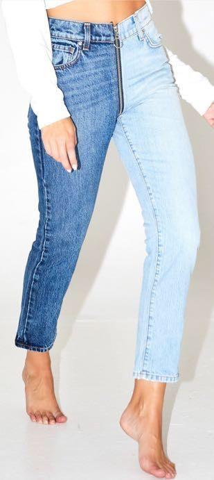 Revice Denim Yin Yang crop Jeans