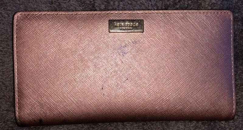 Kate Spade Rose Gold BiFold Wallet