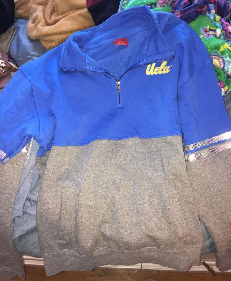 Amazon UCLA quarter Zip Jacket
