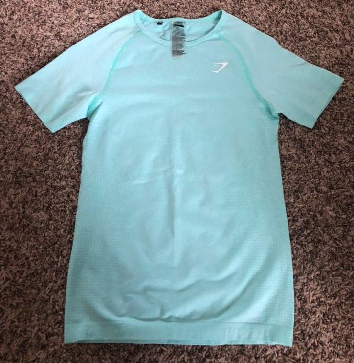 Gymshark Teal  Athletic Shirt