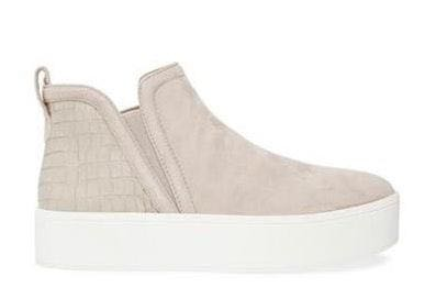 Steve Madden Famous Taupe Suede Shoes