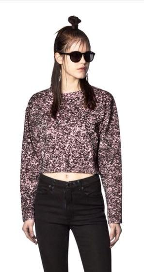 Cheap Monday Crop Sweatshirt