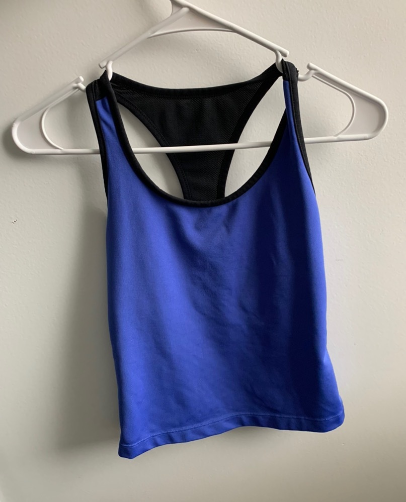 Cropped Athletic Tank