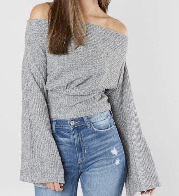 NWT Free People Jump to the Beat Top Retail $98