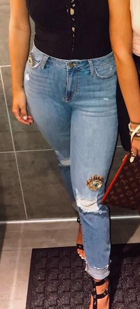 Sam Edelman The Stiletto Skinny Jeans