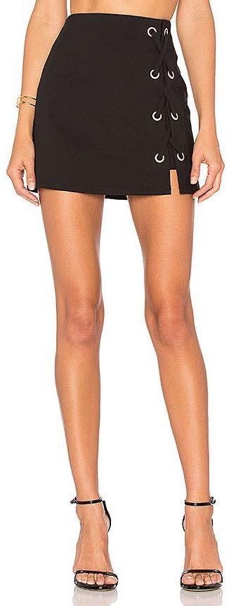 DO+BE Revolve Black Lace Up Skort Size XS