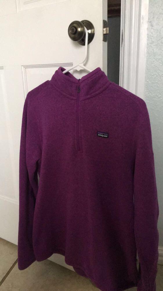 Patagonia Purple Half Zip Pullover