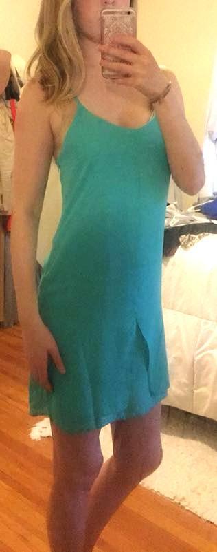 L'ATISTE NWT Green Dress